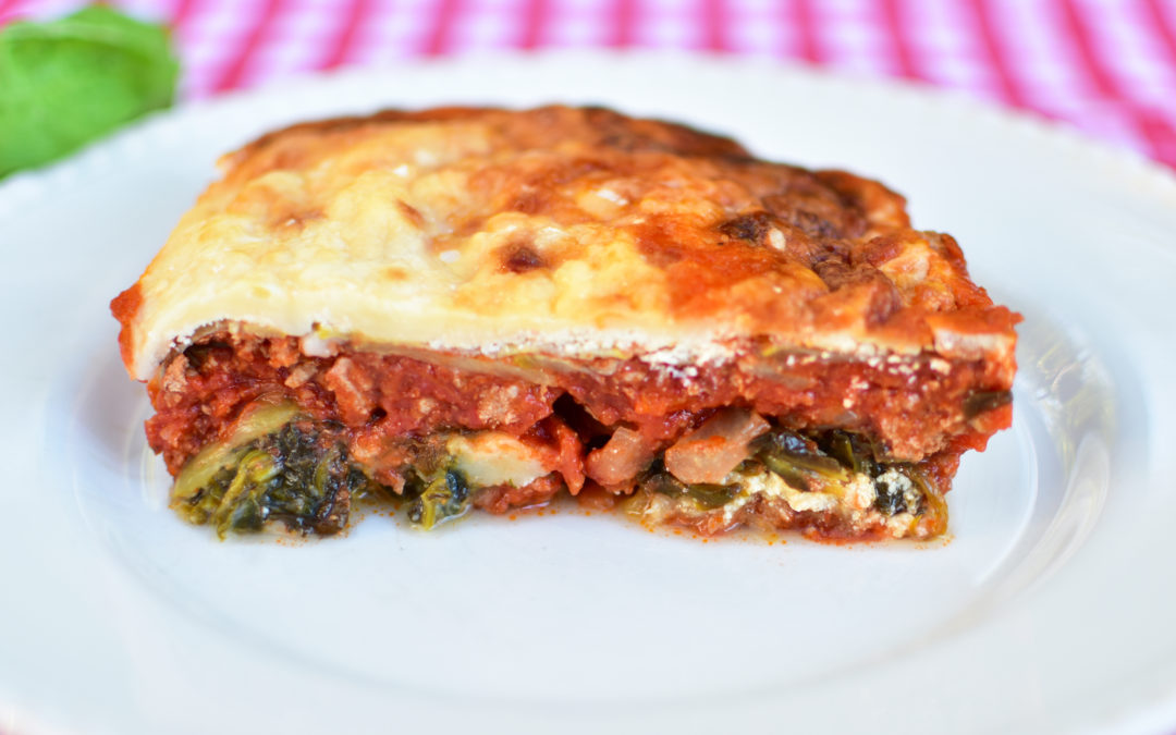 Not Your Mama's Lasagna