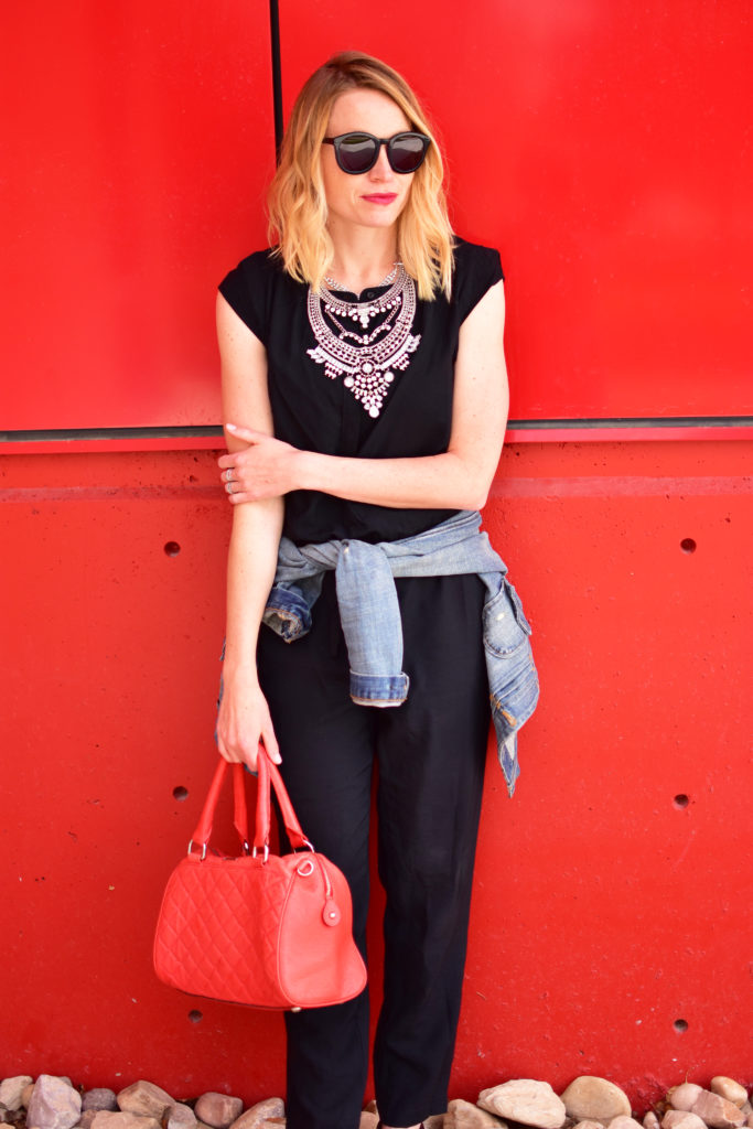 statement necklace, wear and back again fashion, summer style