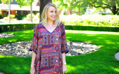 Styling the Bump: Swing Dress Edition